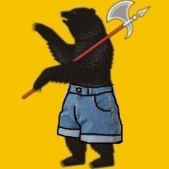 Медведь в шортах