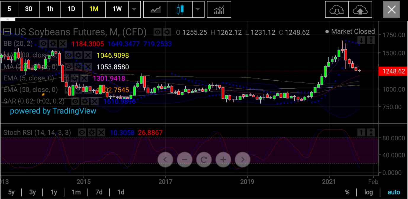 Soybeans Monthly